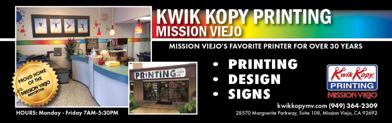 Kwik Kopy Printing Mission Viejo